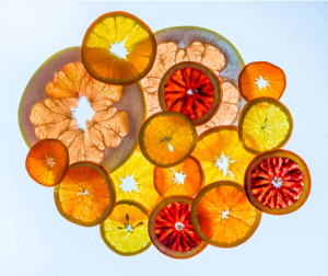 citrus slices by Roy Kaltschmidt, LBNL